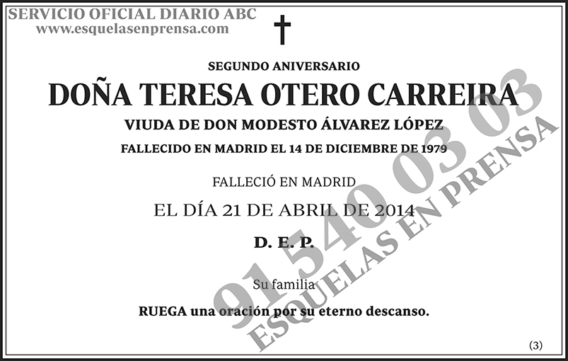 Teresa Otero Carreira